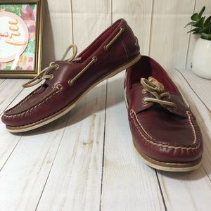 Frye Quincy Boat Shoes 8.5